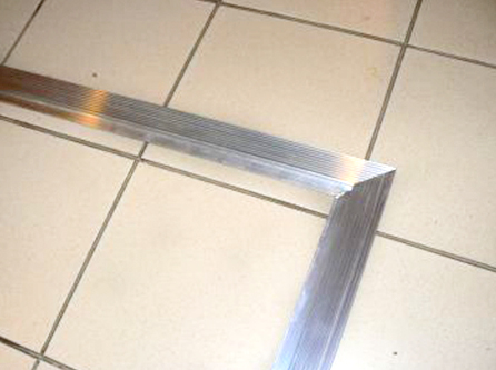 aluminiumsprofil skrå